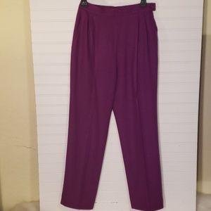Pendleton Petite Fully Lined 100% Virgin Wool Pant